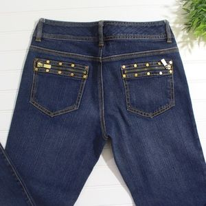 Michael Kors Blue Bootcut Jeans
